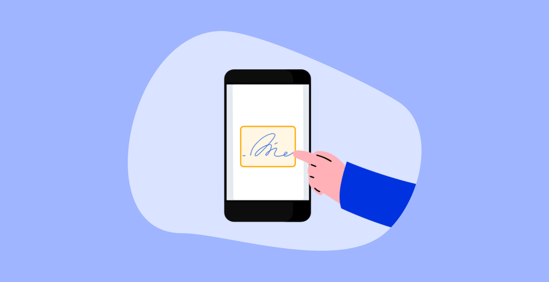 How to send a SignRequest with your smartphone