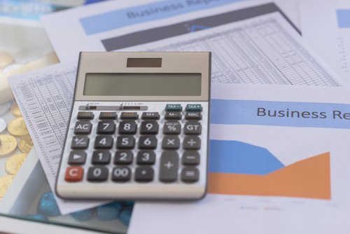 números financeiros