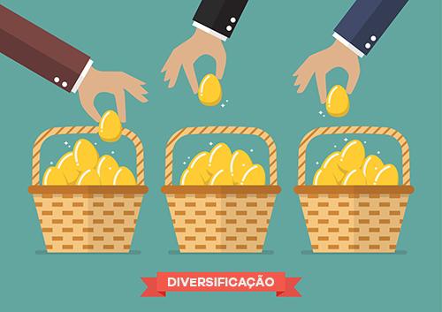 A diversificação é uma ferramenta que não deve ser utilizada cegamente em investimentos.
