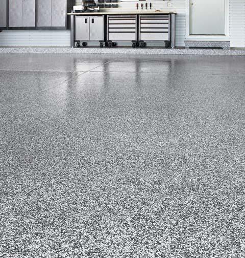 SunOne Polyaspartic Urethane Garage Floor