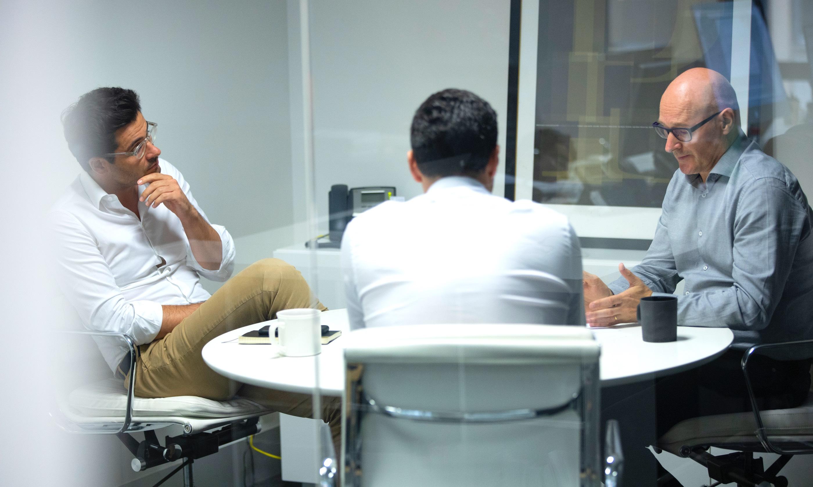 Designate directors in meeting discussing investor communications.
