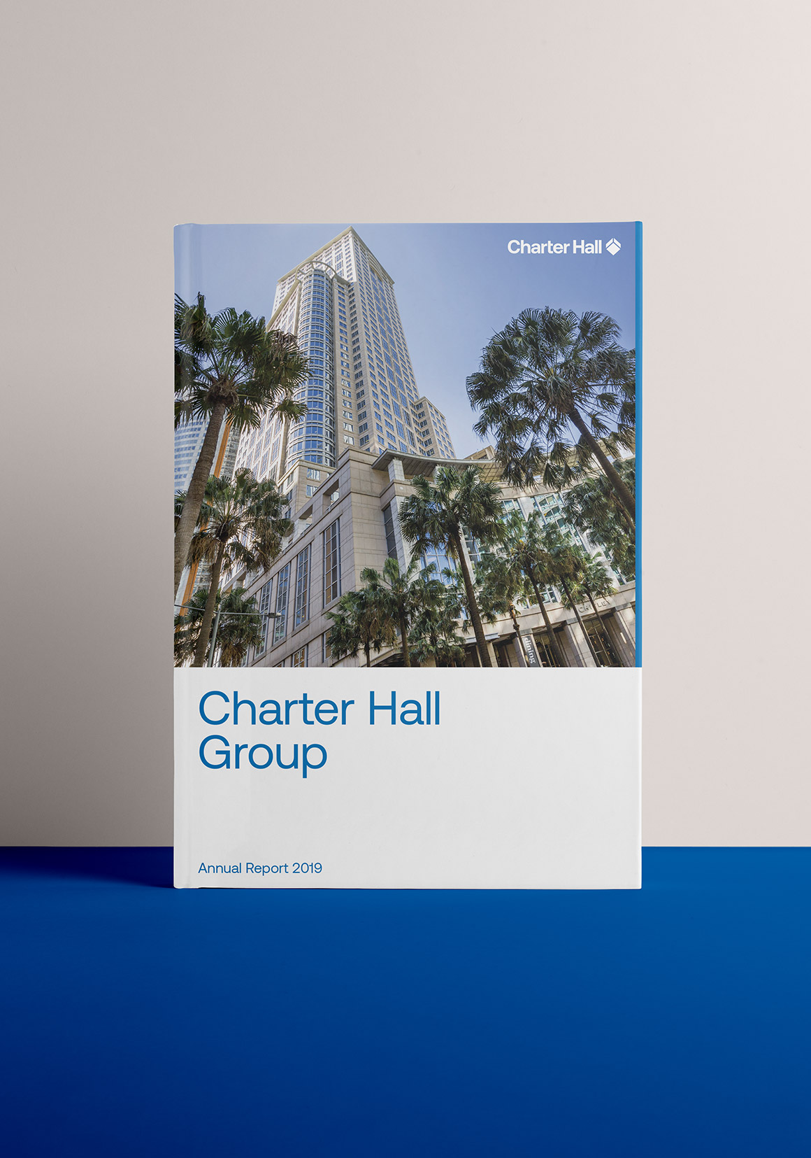Charter Hall Annual Report. Front Cover.