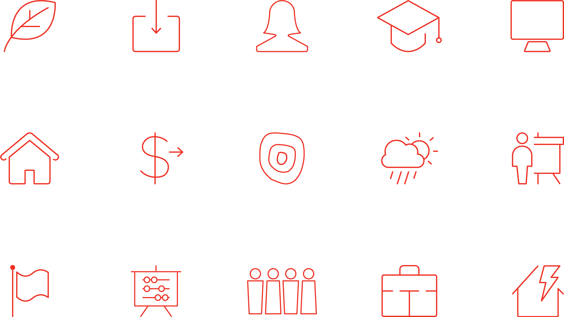 Westpac 2019 Annual Report. Iconography.