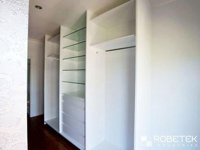 built in wardrobe internal