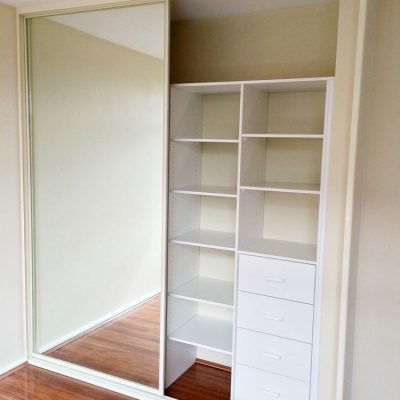 inside sliding wardrobe