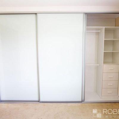 open sliding wardrobe