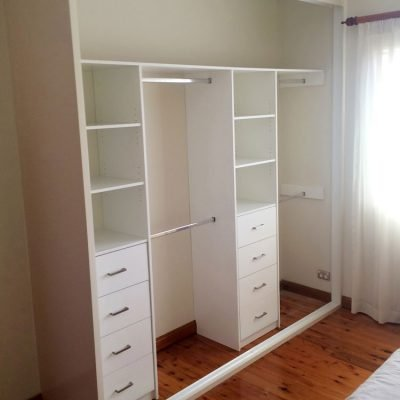 wardrobe shelving