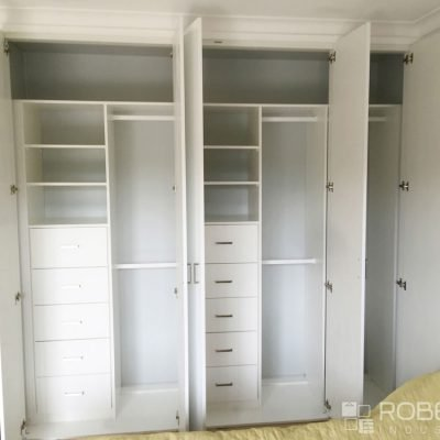 custom wardrobe shelving