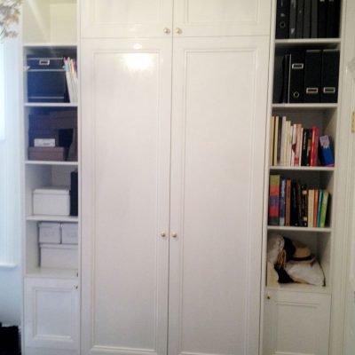 hinged wardrobe door