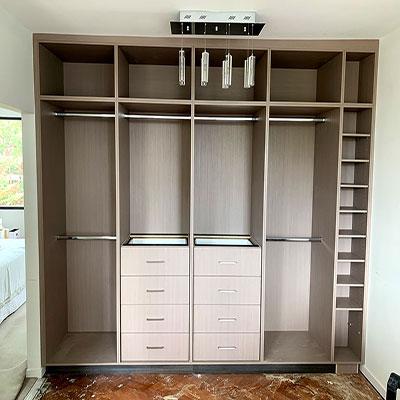 build in garage storage