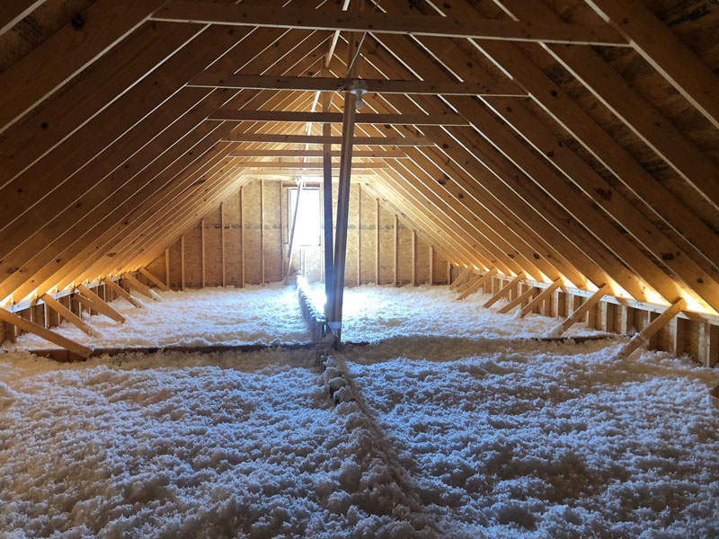 Blown-in insulation in Louisville, KY