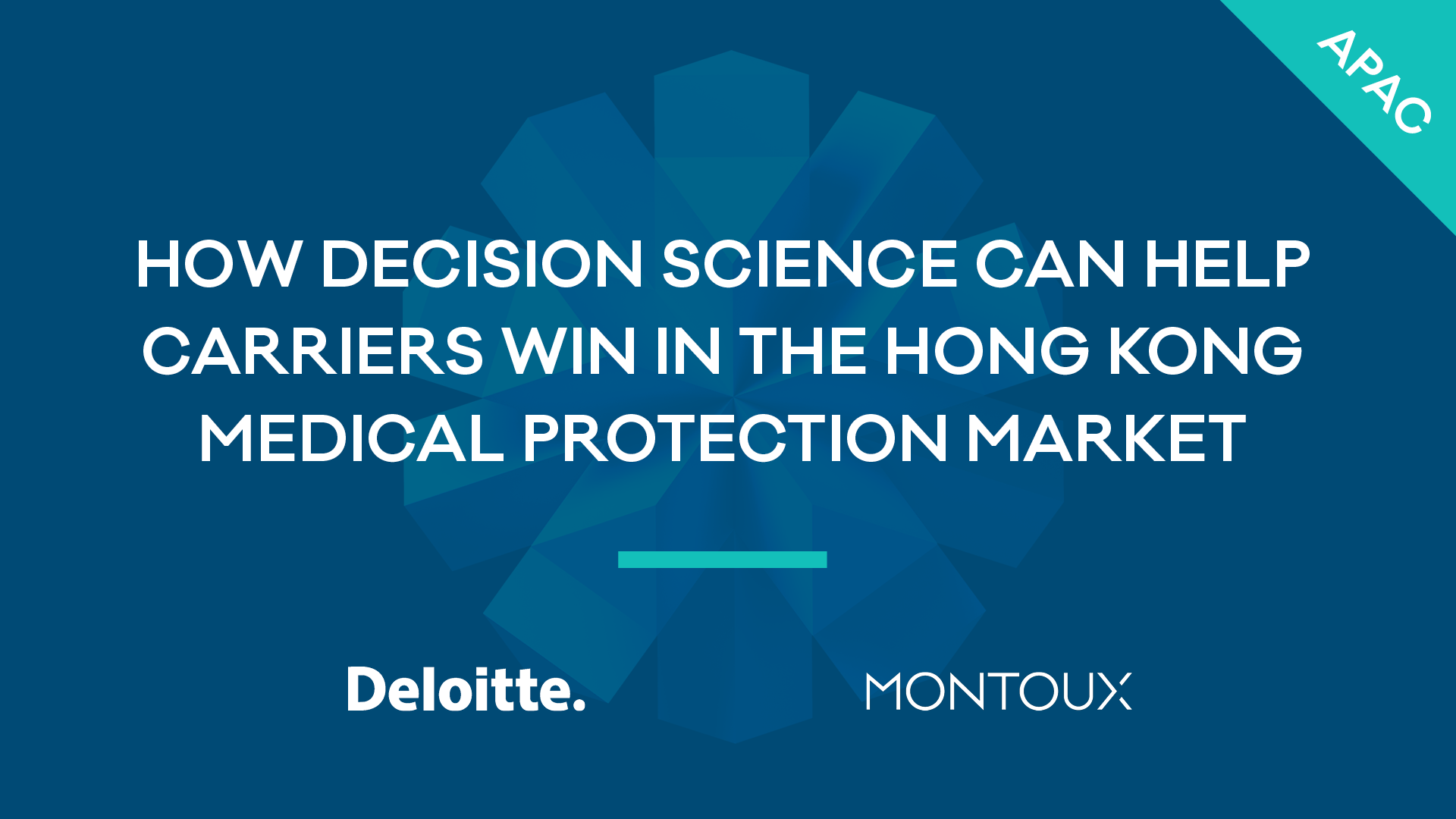 How Decision Science can help carriers win in the Hong Kong Medical Protection market