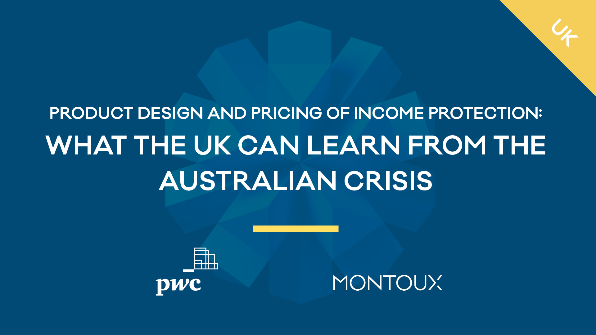 Product design and pricing of Income Protection:What the UK can learn from the Australian crisis