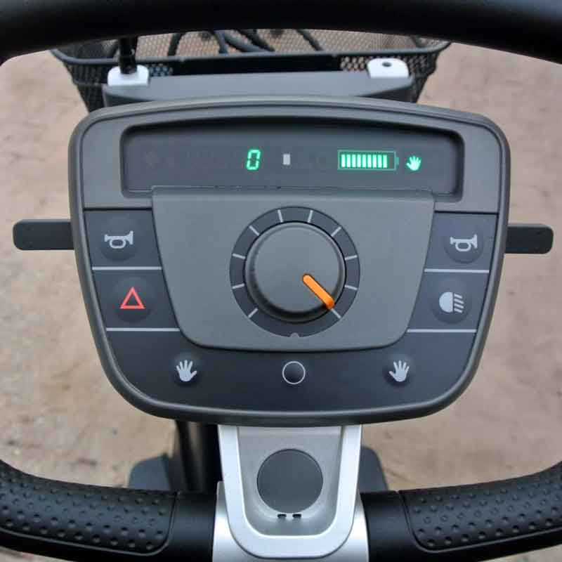 Carpo 3 scootmobiel dashboard