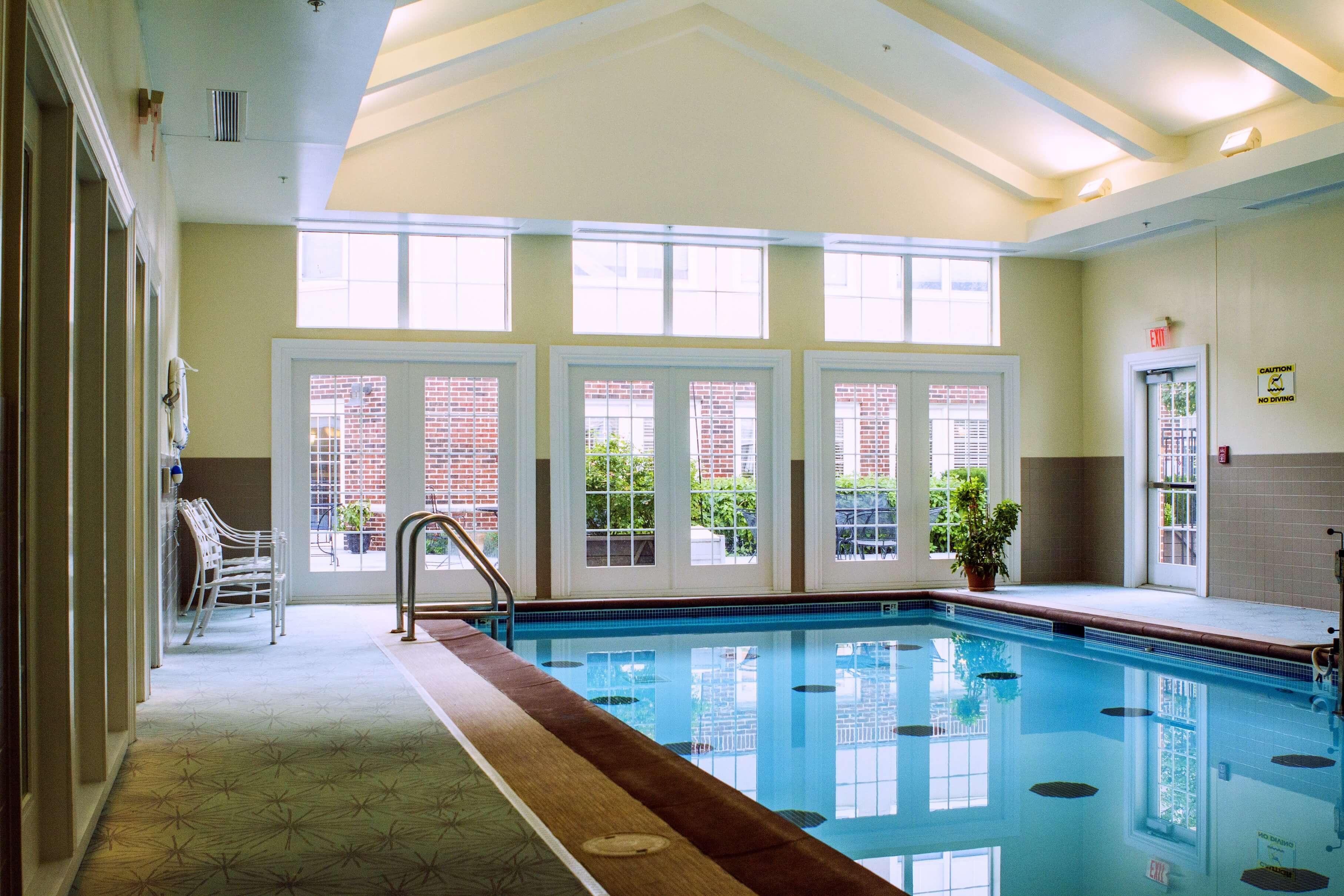 Aberdeen Village's indoor pool