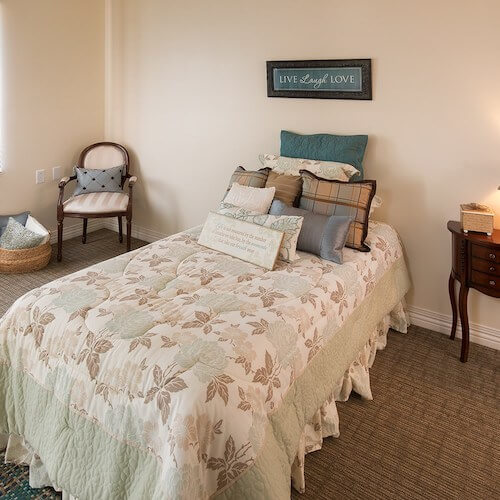 Respite Care Arkansas City Bedroom Image