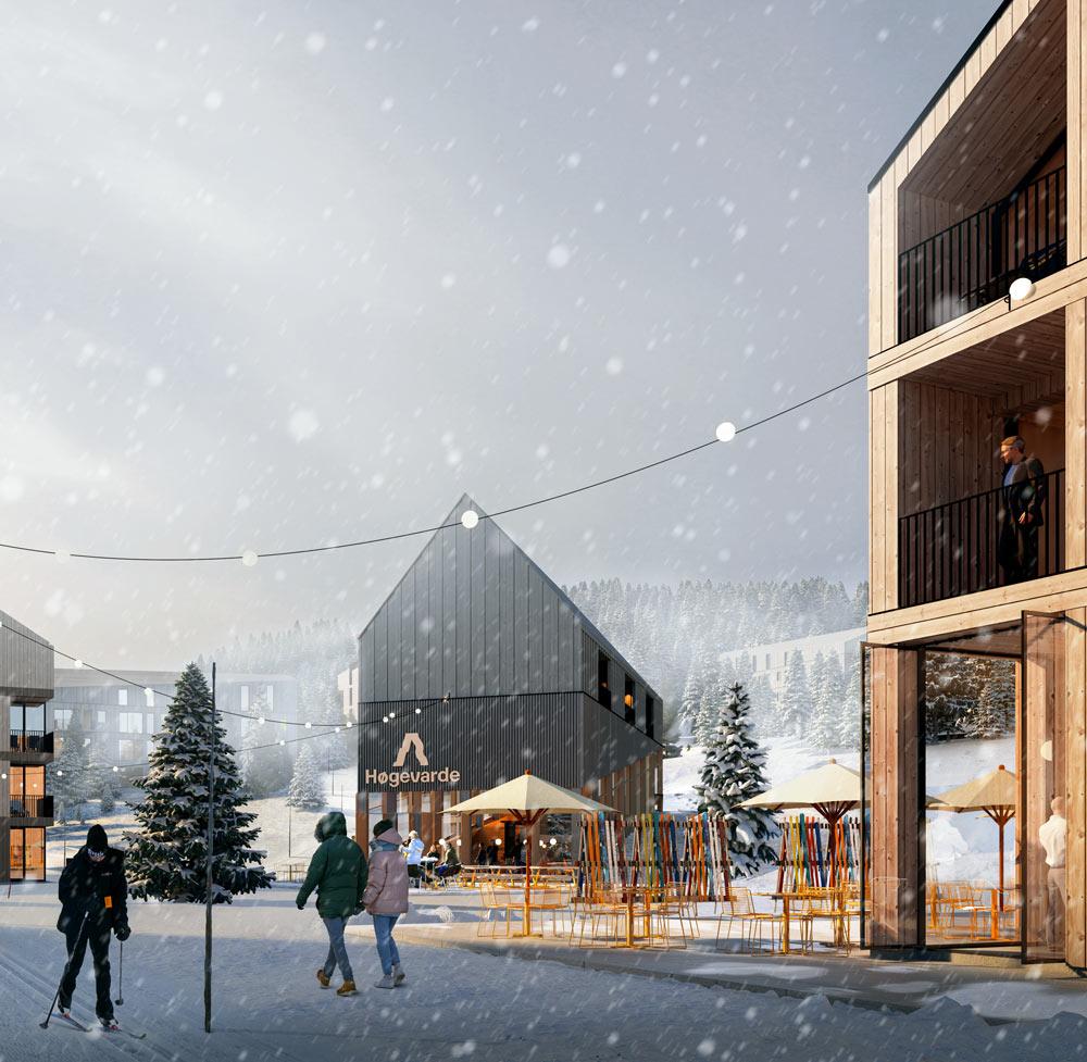 Den nye fjellparken på Høgevarde