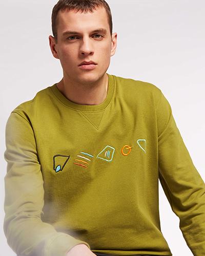 ThokkThokk  Sweater Herren Bio Fair Vegan