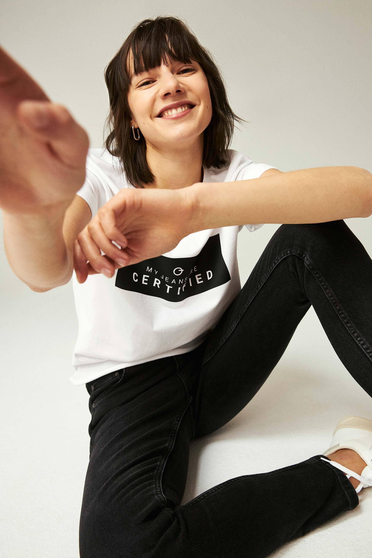 ThokkThokk Women Cool Black Skinny Bio Jeans