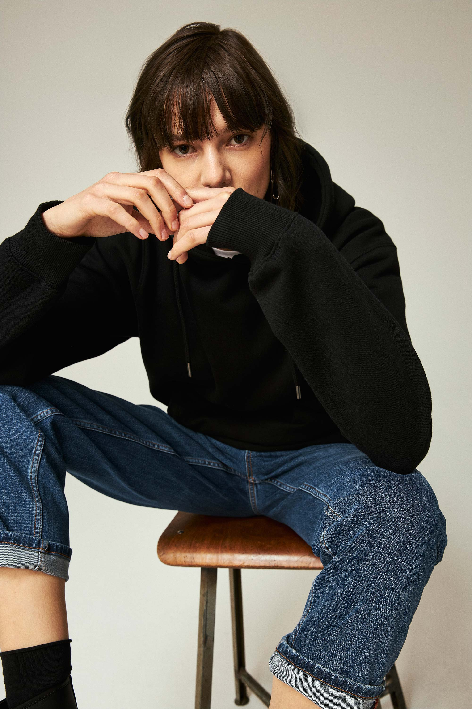 ThokkThokk Women Cool Straight Blue Bio Jeans