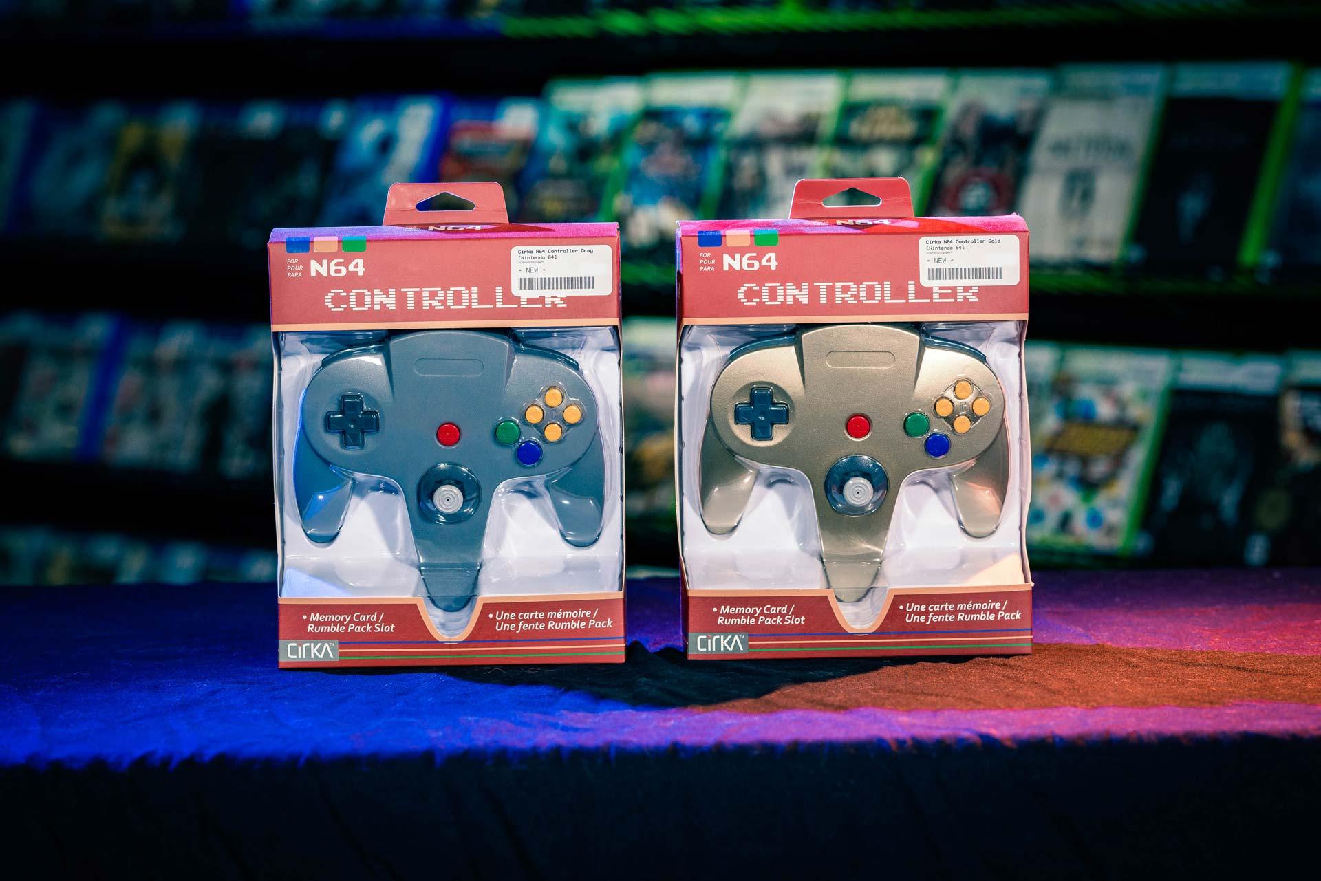 Ready set game Nintendo accessories