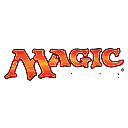 Magic the gathering logo.