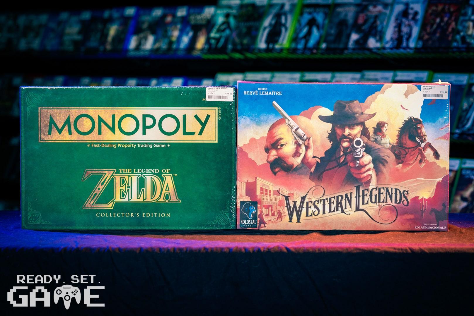 Ready set game Zelda monopoly.