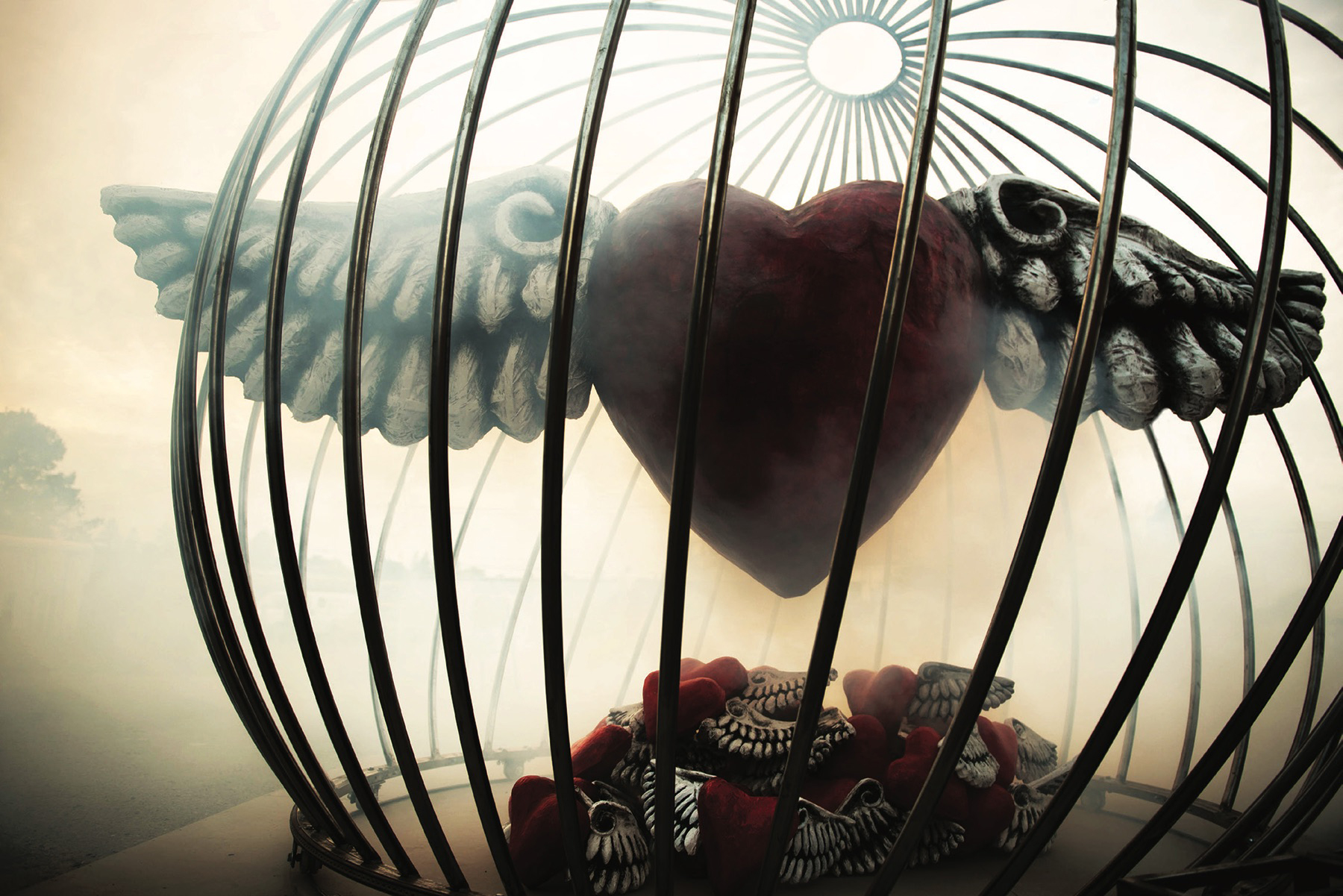 Spellbound Cage and Heart