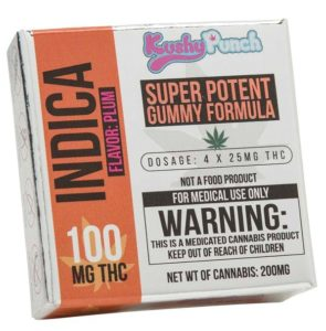 Indica gummies