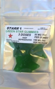 Green Star Gummies