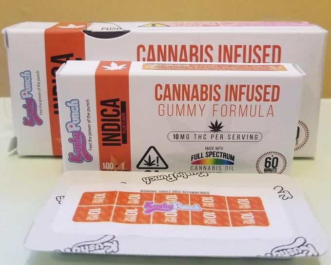 Kushy Punch Cannabis Infused Gummies