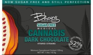 Bhang Bar Dark Sugar Free Bar 120
