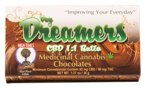 Day Dreamer CBD 1:1 Ratio bar