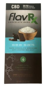 CBD sea salt bar FlavRX