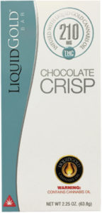 Bar Liquid Gold Chocolate Crisp