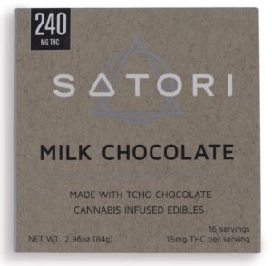 240 Satori Milk Chocolate Bar