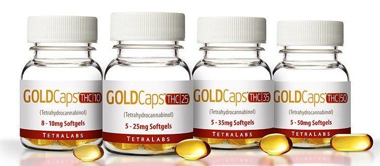 TetraLabs PureGold THC Capsules
