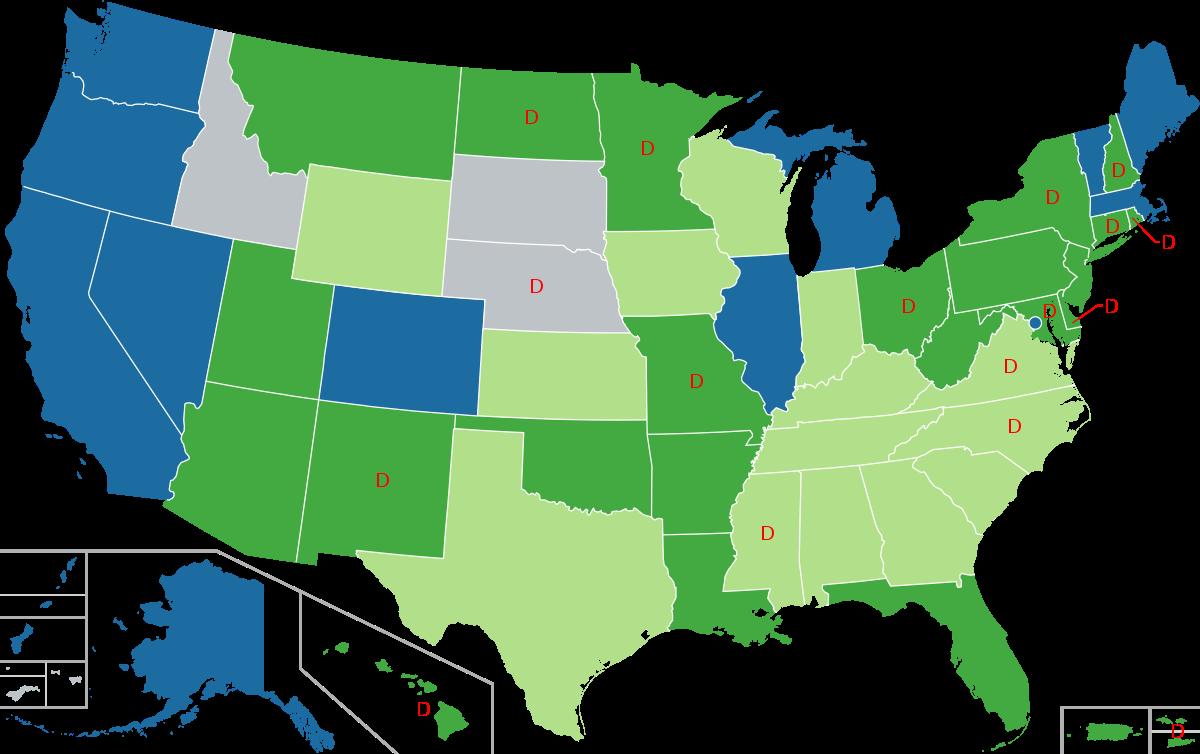 CBD oil legality map