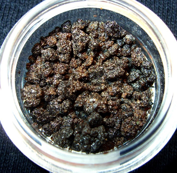 bubble hash in jar