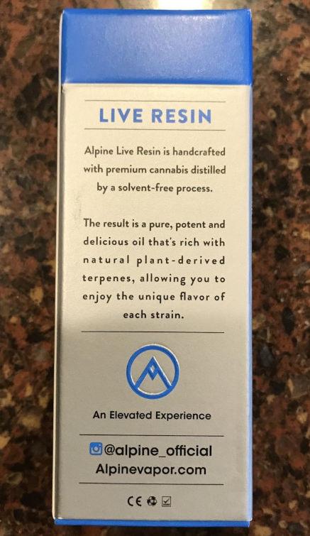 Alpine Vapor Live Resin