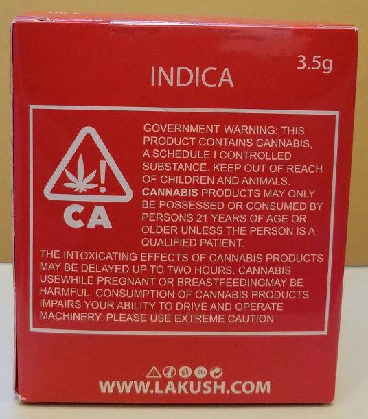 LA Kush Red Box Indica