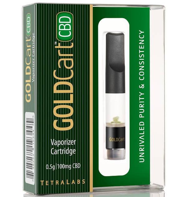 GoldCart CBD Vaporizer Cartridge