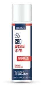 CBDistillery CBD Warming Cream 300mg