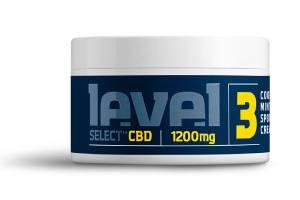 Level 3 select 1200m CBD cream