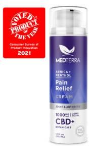Medterra 1000mg CBD pain relief cream