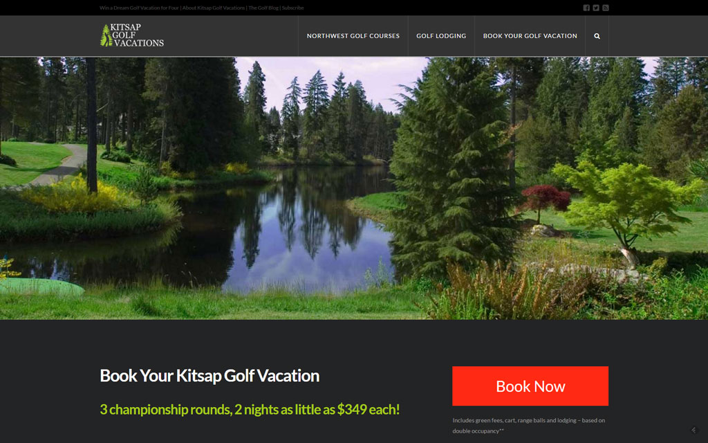 Kitsap Golf Vacations