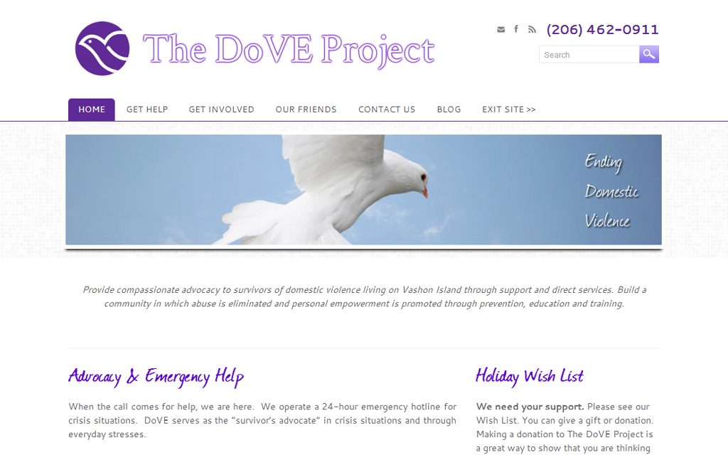 Vashon DoVE Project