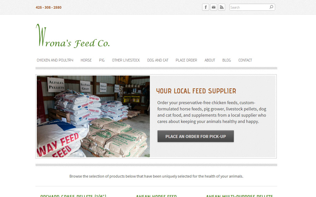 [Case Study] Wrona's Feed Company: Develop A Local Search Presence