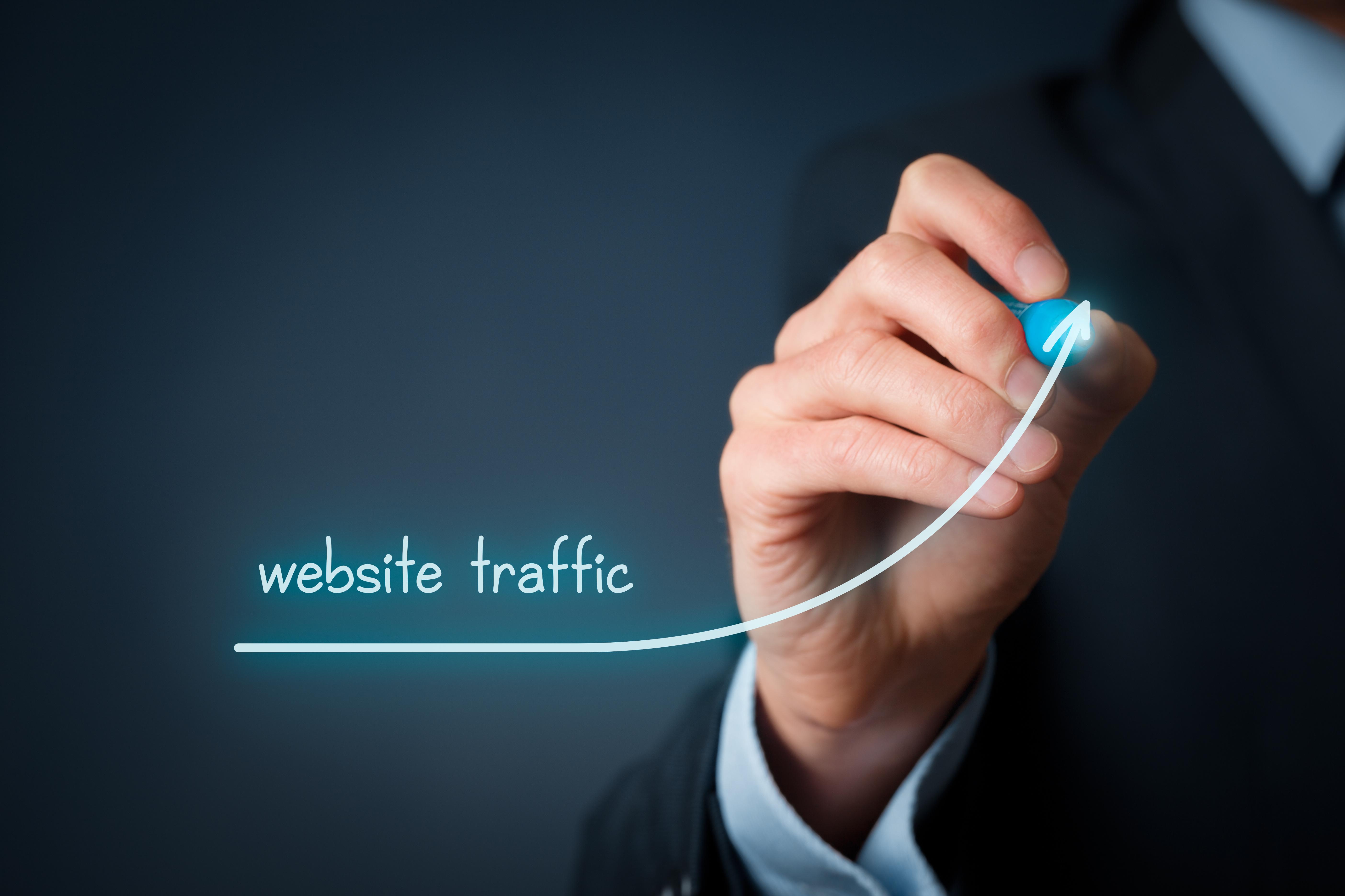 Six strategies for increasing website traffic