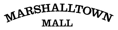 Marshalltown Mall logo with link to mall homepage